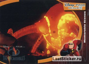 Though he's out of shape, Mr. Incredible (The Incredibles Memorable Scenes)